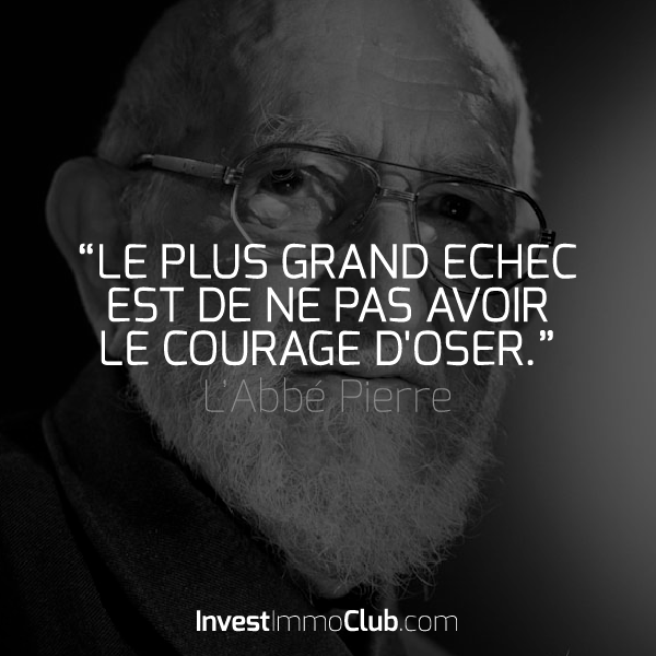 InvestImmoClub-Citations-04-Echec-Courage-Doser