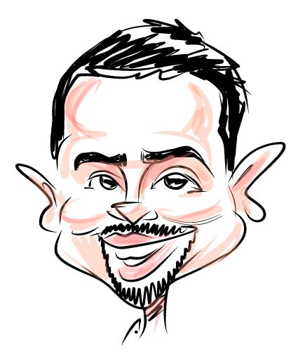 Bru-Caricature