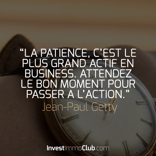 Citation La Patience C Est Le Plus Grand Actif En