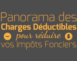 InvestImmoClub-Charges Deductibles pour Reduire vos Impôts Fonciers