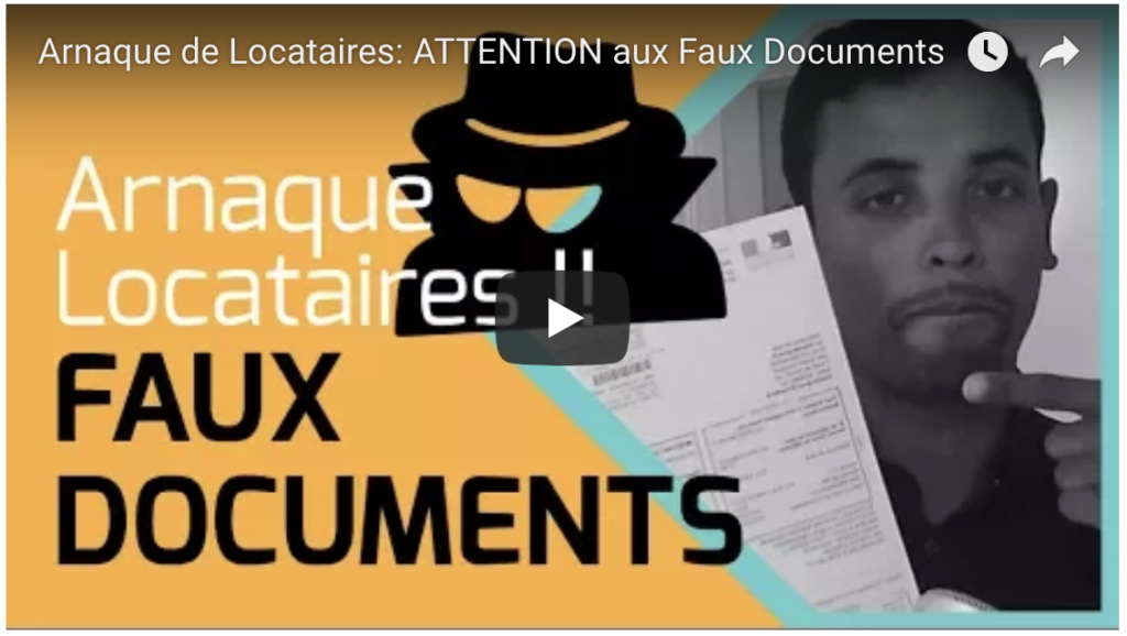 Arnaque-Faux-Documents-Invest Immo Club - Youtube