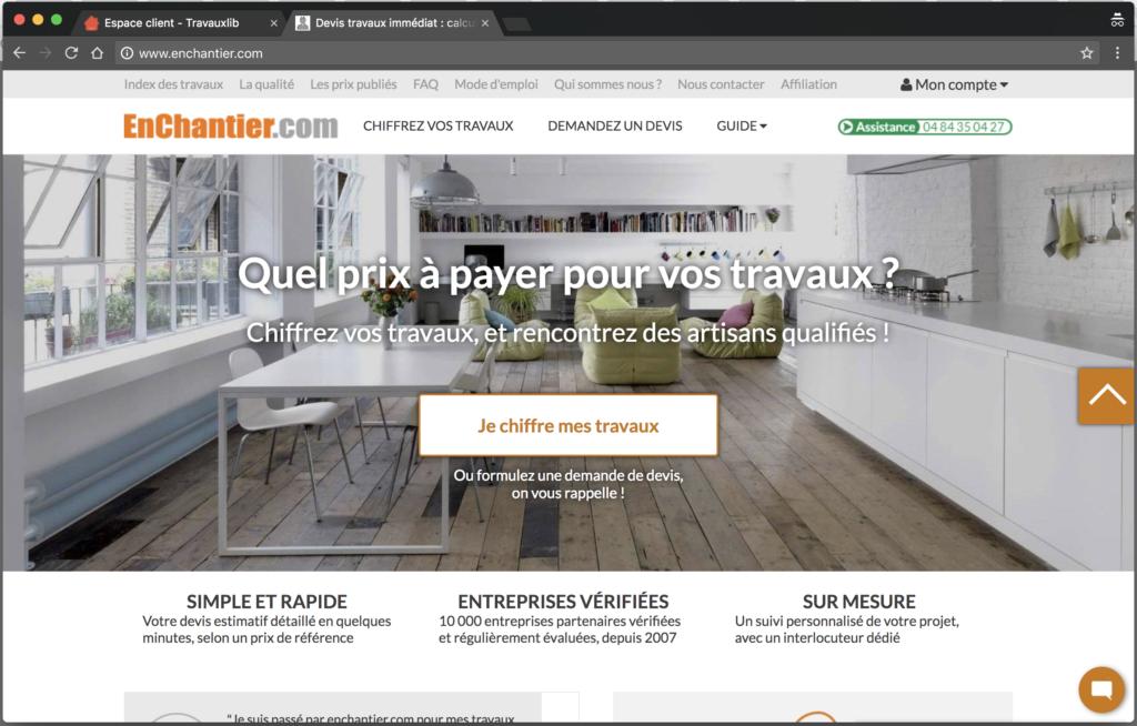 chiffrage des travaux liste de 3 outils gratuits en ligne pour vous aider. Black Bedroom Furniture Sets. Home Design Ideas